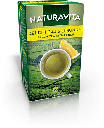 Zeleni čaj s limunom / Green tea lemon