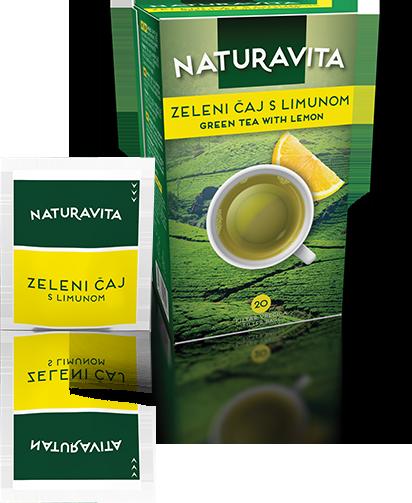 Zeleni čaj s limunom / Green tea lemon