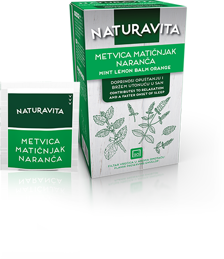 Metvica Matičnjak Naranča / Mint Lemon Balm Orange