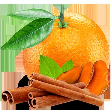 Naranča s cimetom i kukurmom