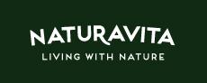 Naturavita English logo dark background