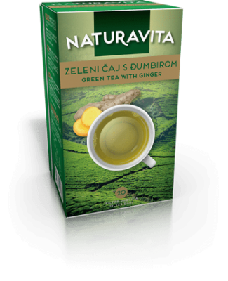 Zeleni čaj Đumbir / Green tea Ginger